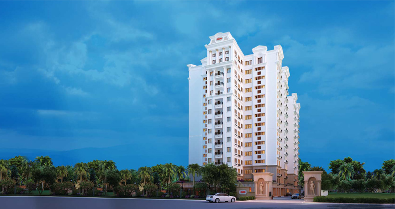 DSR Lotus Towers - 2/3 BHK Apartments for sale in Whitefield